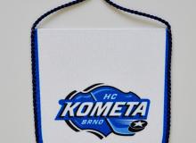 Stolní vlaječka na zavěšení HC Kometa Brno