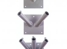 Lakované fasádní držáky - všechny varianty
