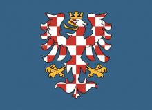 vlajka moravy - samolepka