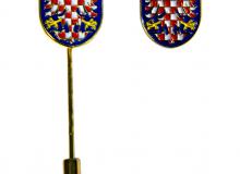 Odznak - Moravská orlice - obě varianty