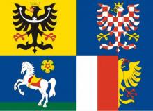 Vlajka Moravskoslezský kraj