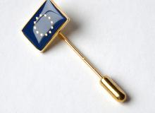 Odznak - vlaječka EU - uchycení jehla