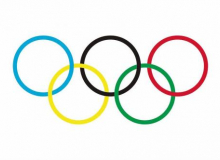 Vlajky olympijské kruhy