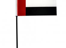 Stolní vlaječka Spojené arabské emiráty na nasunutí
