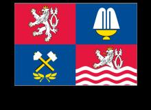 Samolepka vlajky Karlovarského kraje