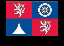Samolepka vlajky Libereckého kraje