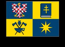 Samolepka vlajky Zlínského kraje
