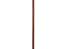 Dřevěný stojánek lakovaný do tmavě hnědého odstínu