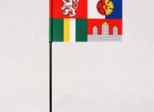Stolní vlaječka Jihočeský kraj