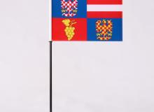 Stolní vlaječka Jihomoravský kraj