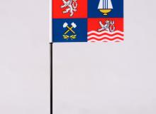 Stolní vlaječka Karlovarský kraj