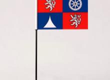 Stolní vlaječka Liberecký kraj