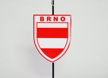 Stolní vlaječka - znak města Brna