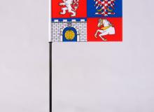 Stolní vlaječka Pardubický kraj