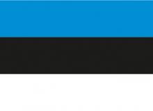 Estonsko vlajka