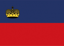Lichtenštejnsko vlajka