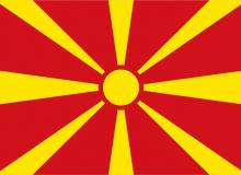 Makedonie vlajka