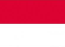 Monako vlajka