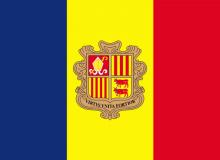 Andorra vlajka