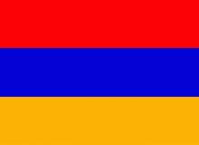 Arménie vlajka