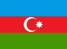 Ázerbajdžán vlajka