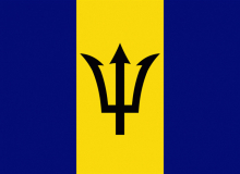Barbados vlajka