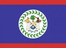 Belize vlajka