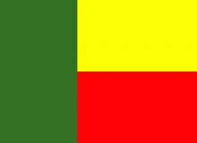 Beninská republika vlajka