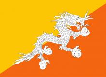 Bhútán vlajka