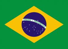 Brazílie vlajka