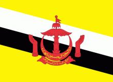 Brunej vlajka