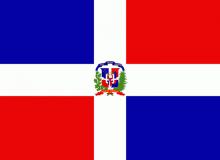Dominikánská republika vlajka