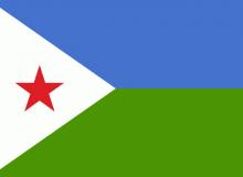 Džibutsko vlajka