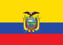 Ekvádor vlajka