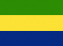 Gabon vlajka