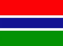 Gambie vlajka