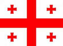 Gruzie vlajka