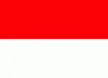 Indonésie vlajka