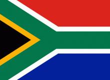 Jihoafrická republika vlajka