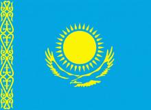 Kazachstán vlajka