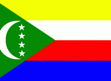 Komory vlajka