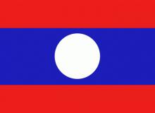 Laos vlajka