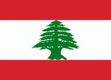 Libanon vlajka