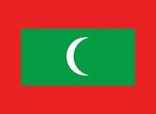 Maledivy vlajka