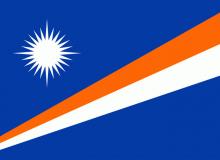 Marshallovy ostrovy vlajka