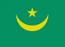 Mauritánie vlajka
