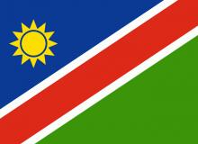 Namibie vlajka