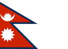 Nepál vlajka