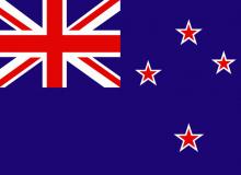 Nový Zéland vlajka