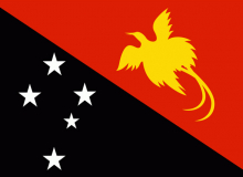 Papua-Nová Guinea vlajka